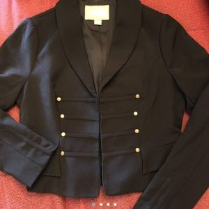 Vintage Forever 21 Cropped Military Blazer Small